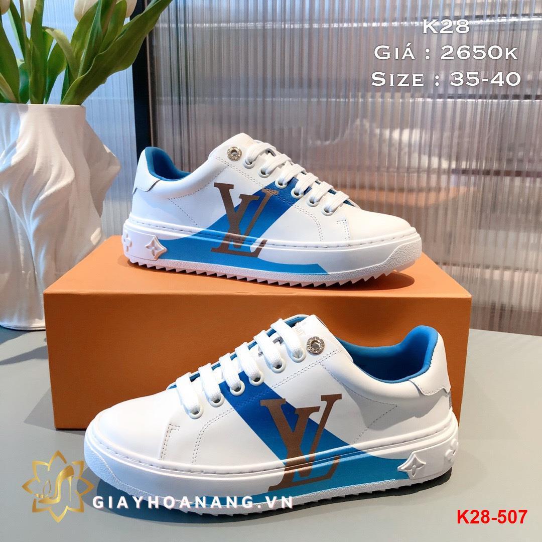 K28-507 Louis Vuitton giày thể thao siêu cấp