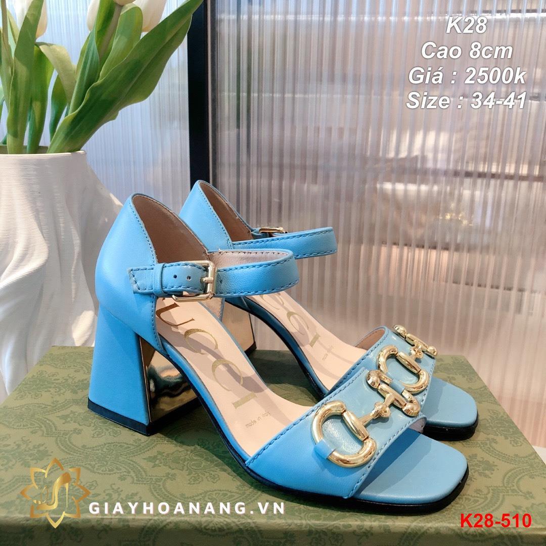 K28-510 Gucci sandal cao 8cm siêu cấp