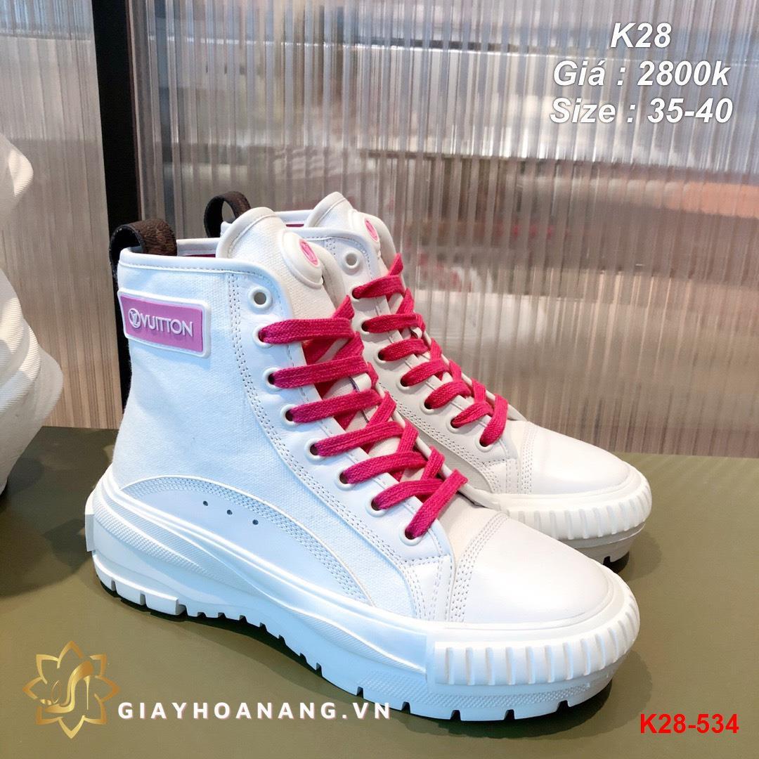 K28-534 Louis Vuitton giày thể thao siêu cấp