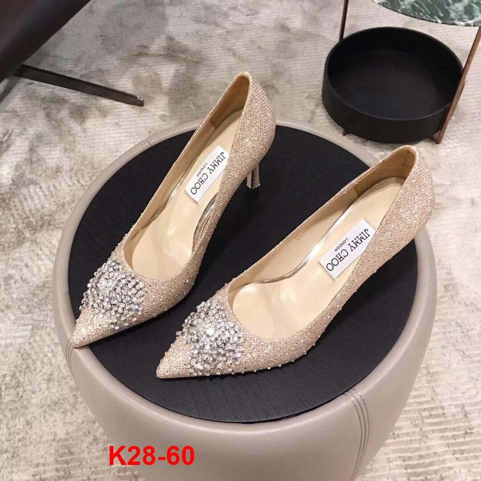K28-60 Jimmy Choo giày cao 9cm siêu cấp