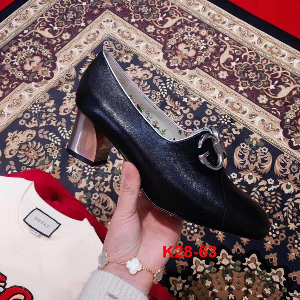 K28-63 Gucci giày cao 5cm siêu cấp