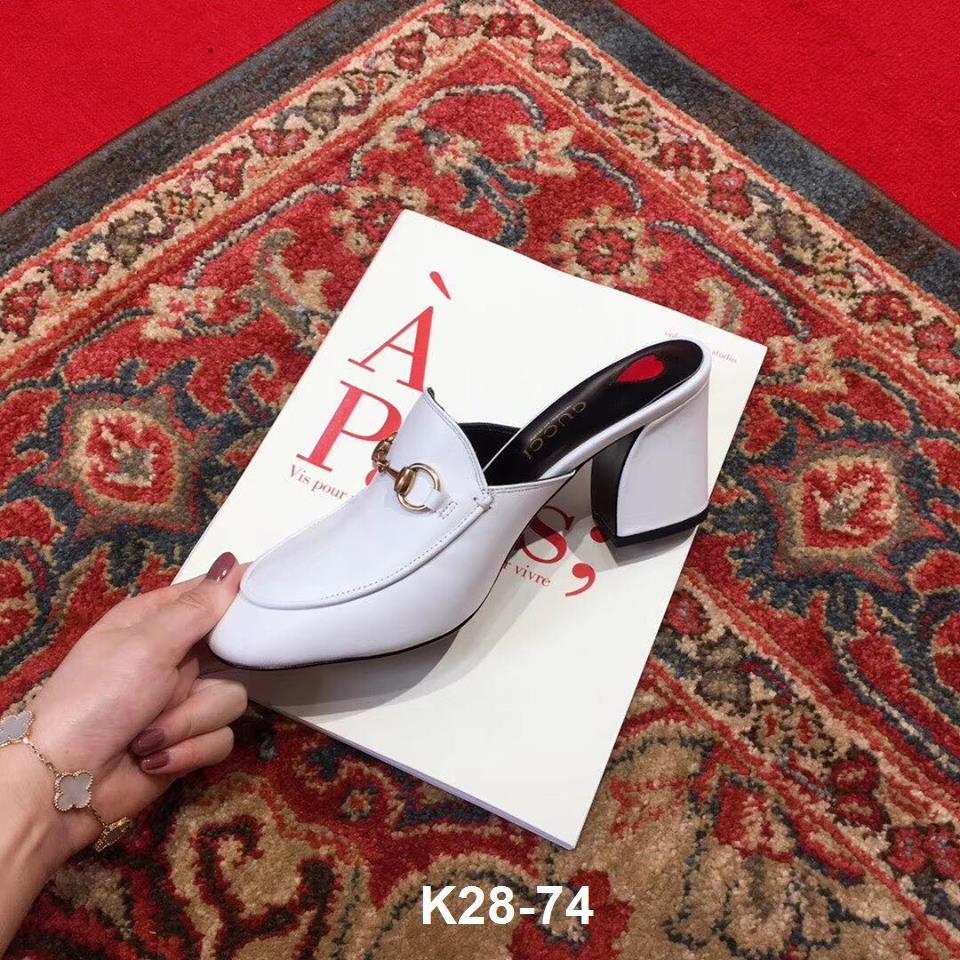 K28-74 Gucci dép cao 8cm siêu cấp