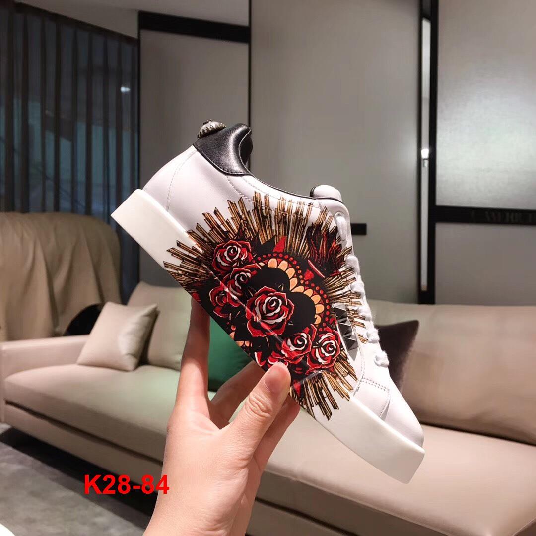 K28-84 Dolce Gabbana giày thể thao siêu cấp