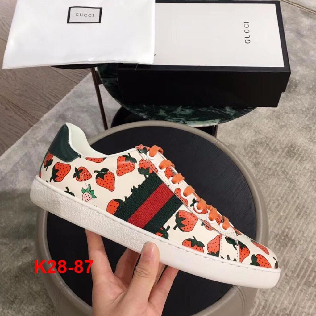 K28-87 Gucci giày thể thao siêu cấp