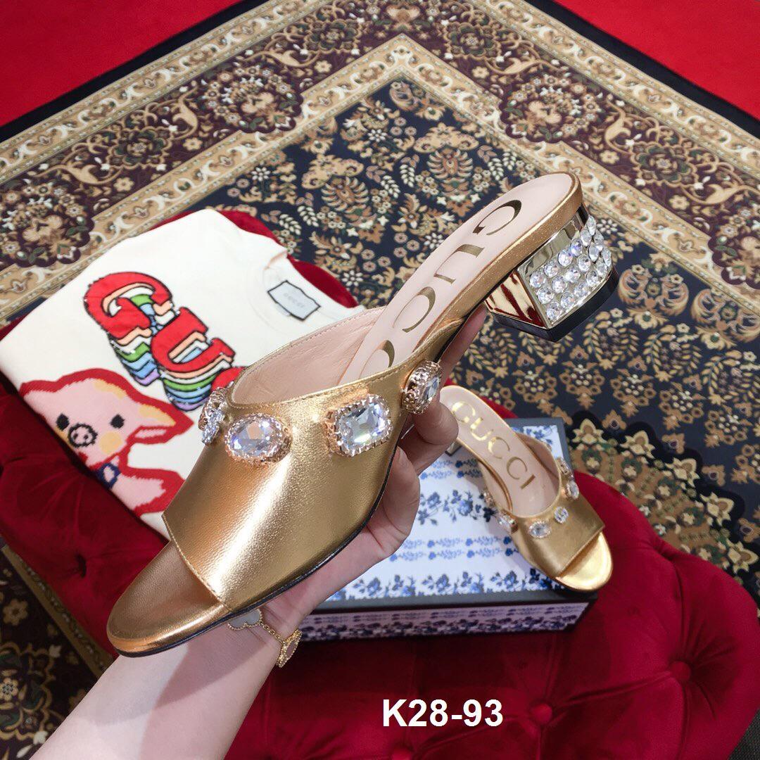 K28-93 Gucci dép cao 5cm siêu cấp