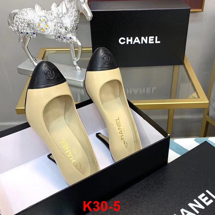 K30-5 Chanel giày cao 9cm siêu cấp