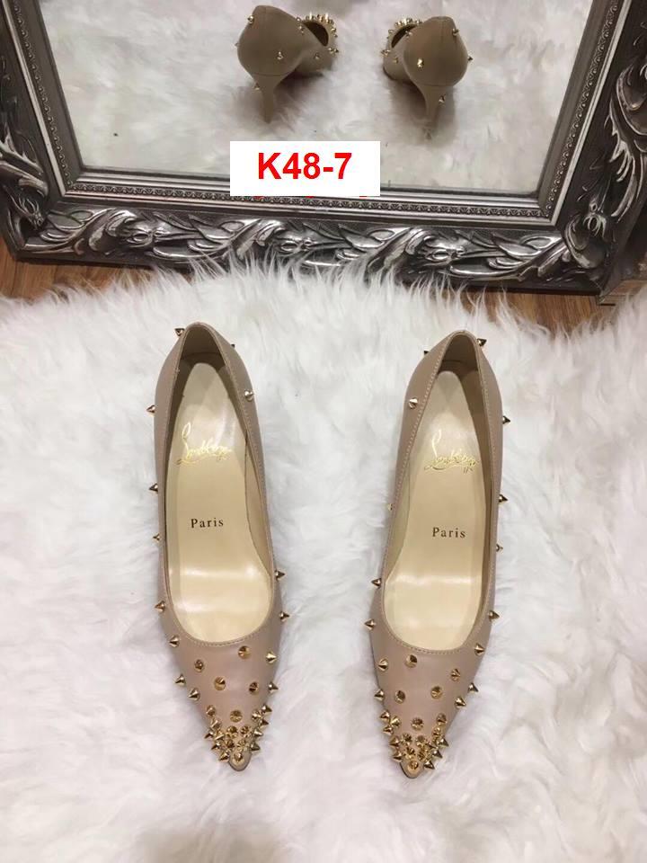 K48-7 Louboutin giày cao 9cm siêu cấp