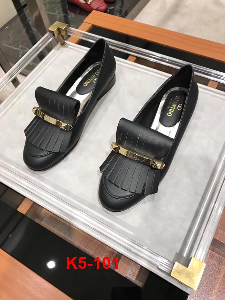 K5-101 Valentino giày bệt siêu cấp