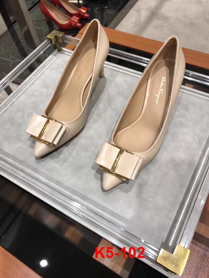 K5-102 Salvatore Ferragamo giày cao 8cm siêu cấp