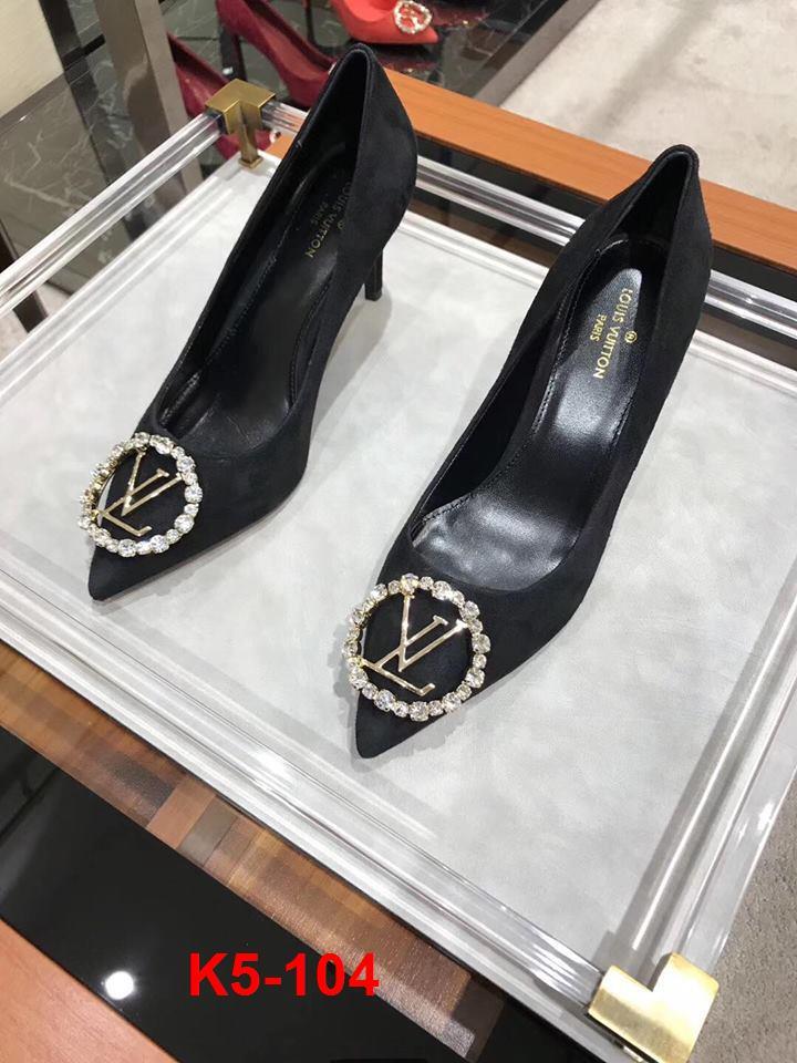 K5-104 Louis Vuitton giày cao 8cm siêu cấp