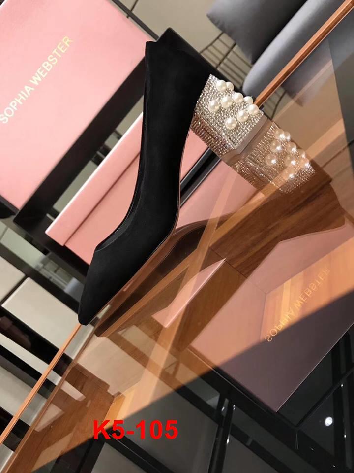 K5-105 Sophia Webster giày cao 7cm siêu cấp