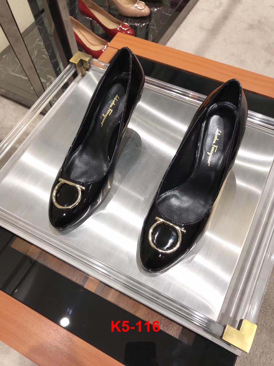 K5-116 Salvatore Ferragamo giày cao 7cm siêu cấp