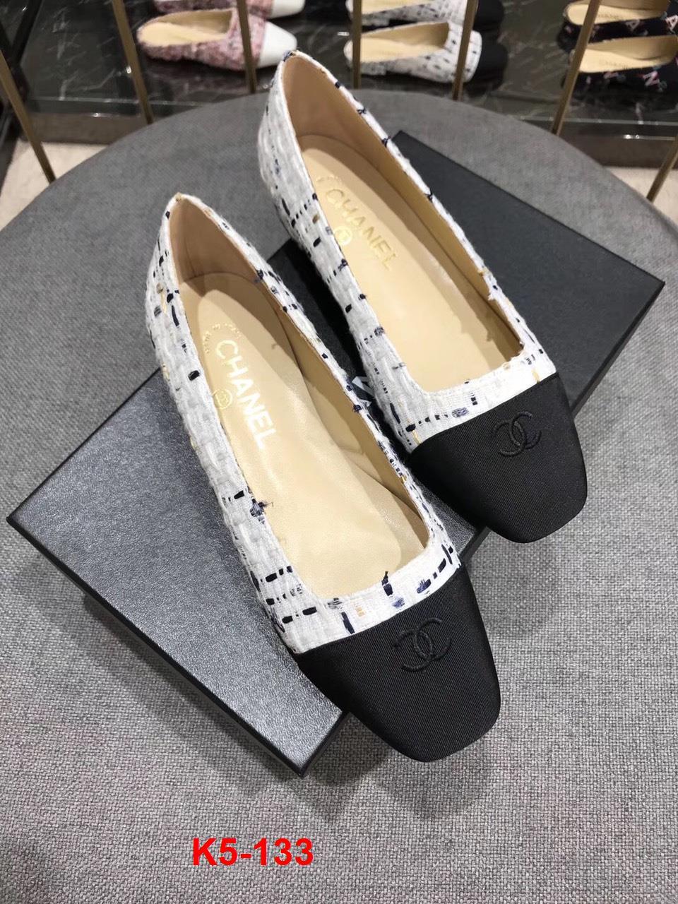 K5-133 Chanel giày bệt siêu cấp