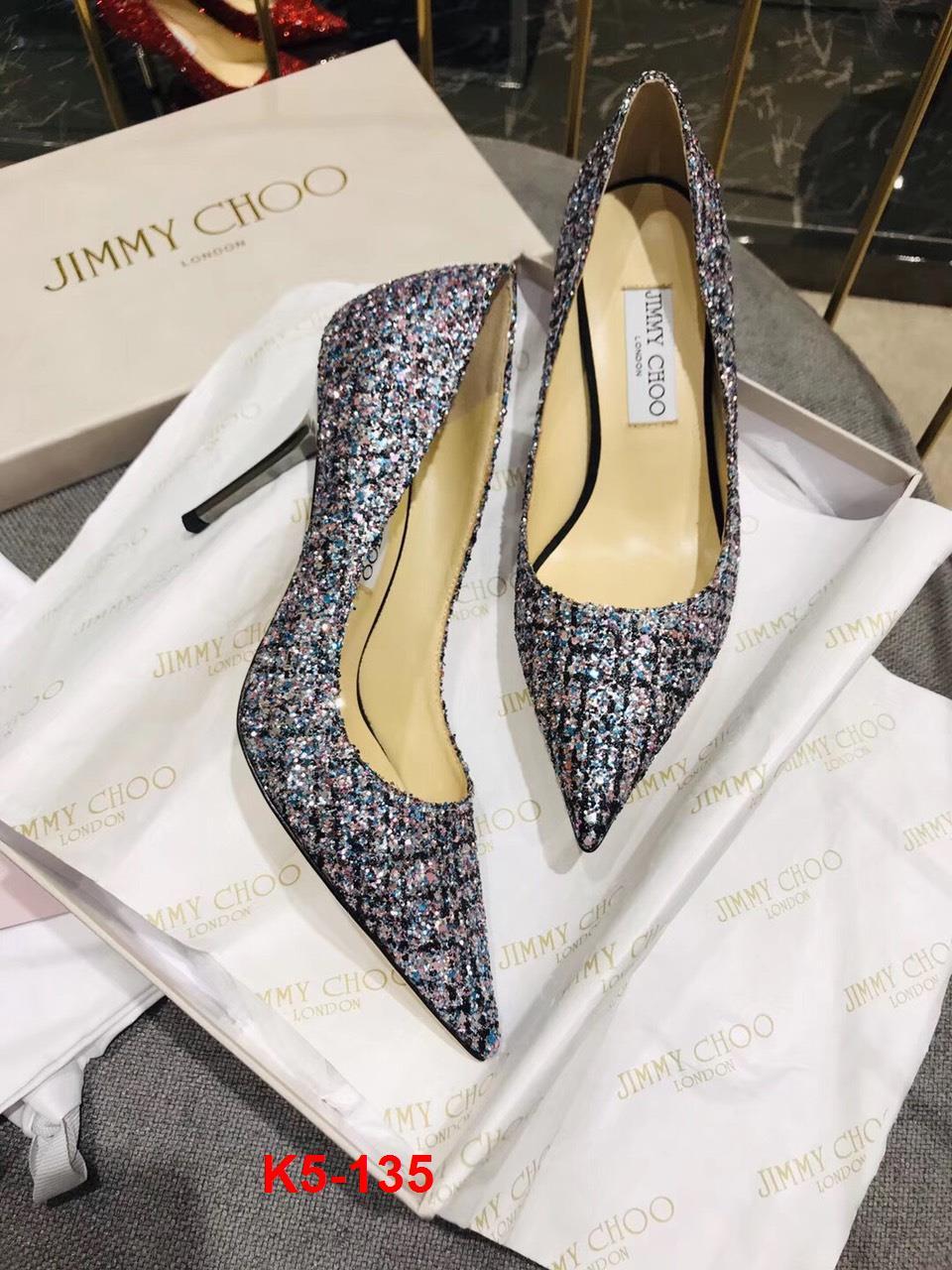 K5-135 Jimmy Choo giày cao 9cm siêu cấp