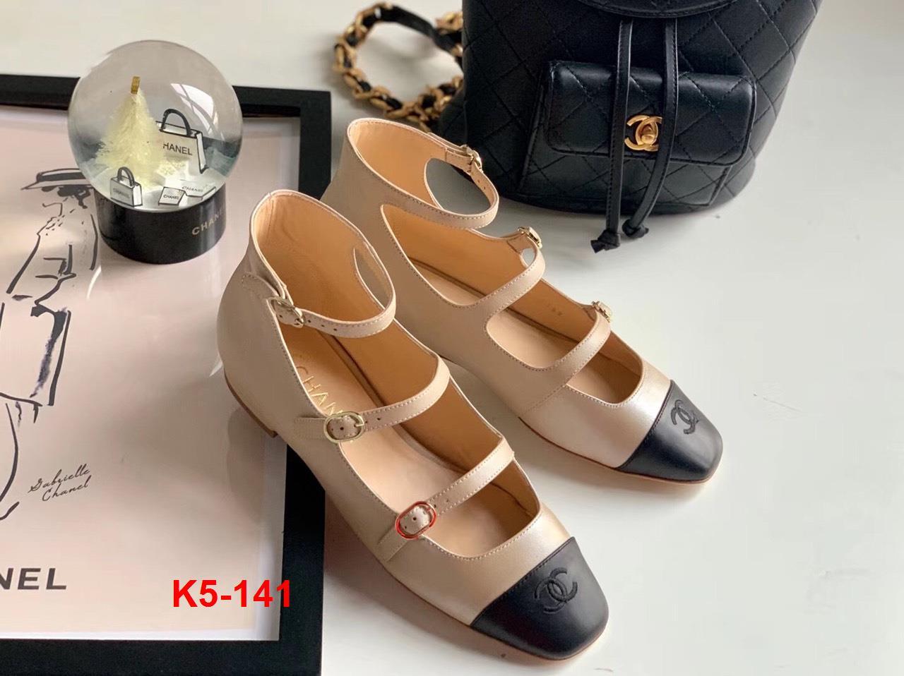 K5-141 Chanel sandal bệt siêu cấp