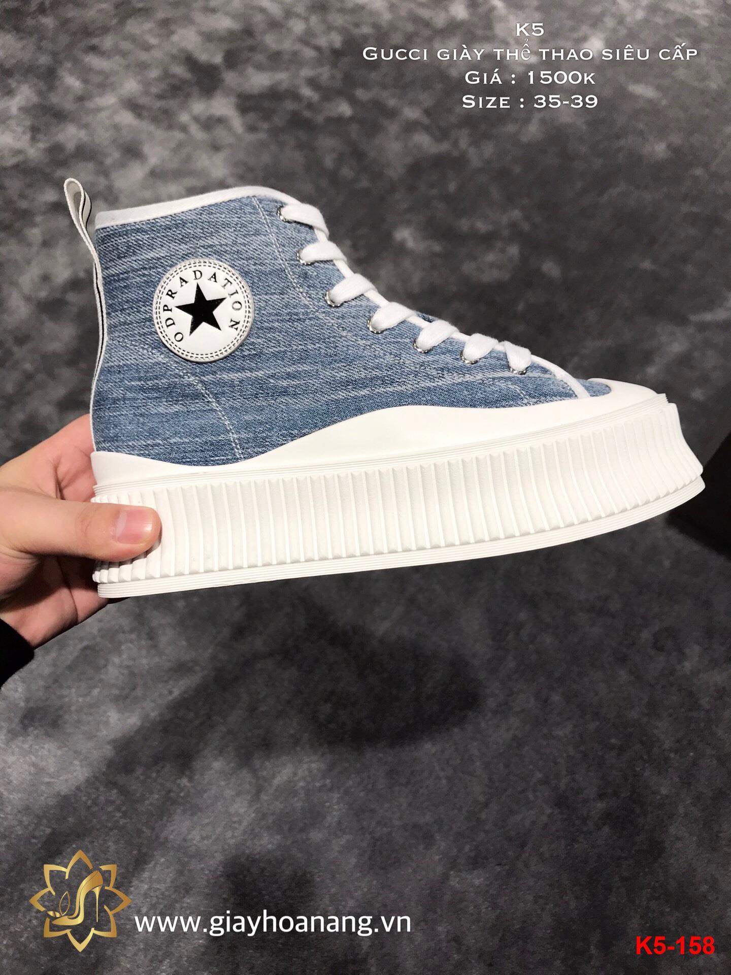 K5-158 Gucci giày thể thao siêu cấp