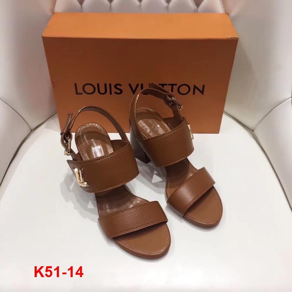 K51-14 Louis Vuitton sandal cao 7cm siêu cấp