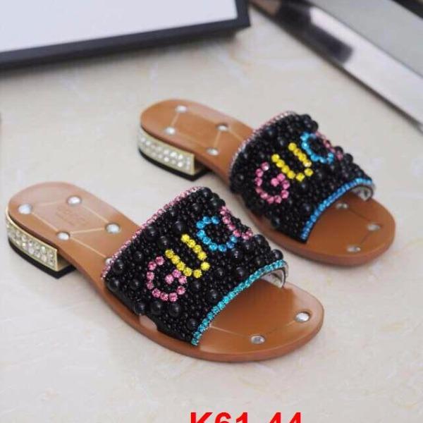 K61-44 Gucci dép cao 2cm siêu cấp