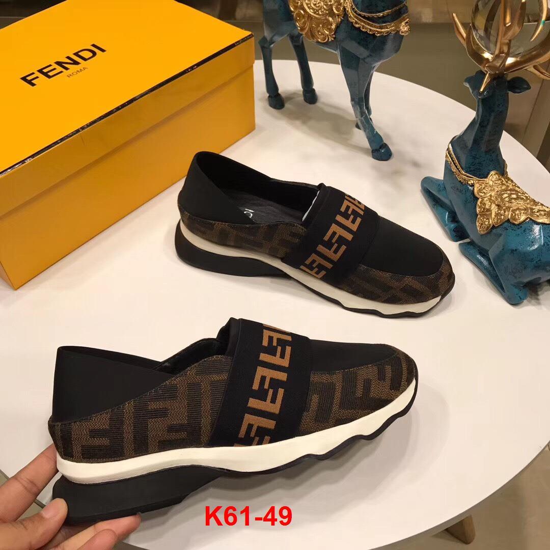 K61-49 Fendi giày lười siêu cấp