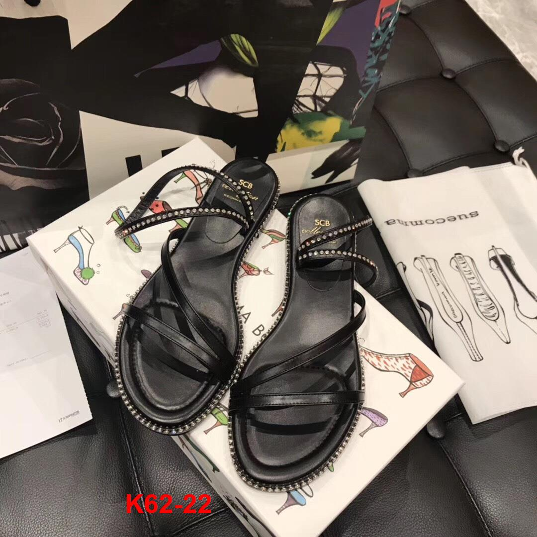 K62-22 SCB Suecommabonnie sandal bệt siêu cấp