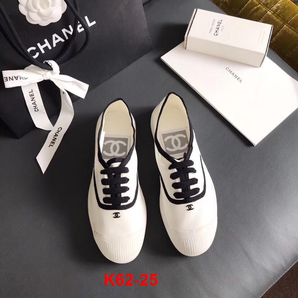 K62-25 Chanel giày thể thao siêu cấp