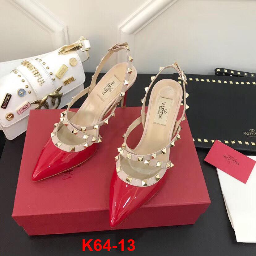K64-13 Valentino sandal cao 9cm siêu cấp