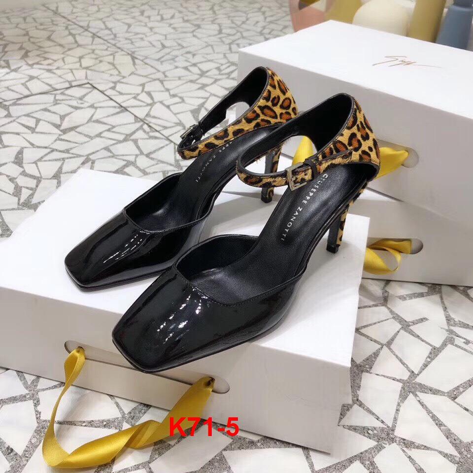 K71-5 Giuseppe Zanotti GZ sandal cao 7cm siêu cấp