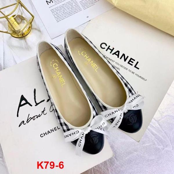 K79-6 Chanel giày bệt siêu cấp