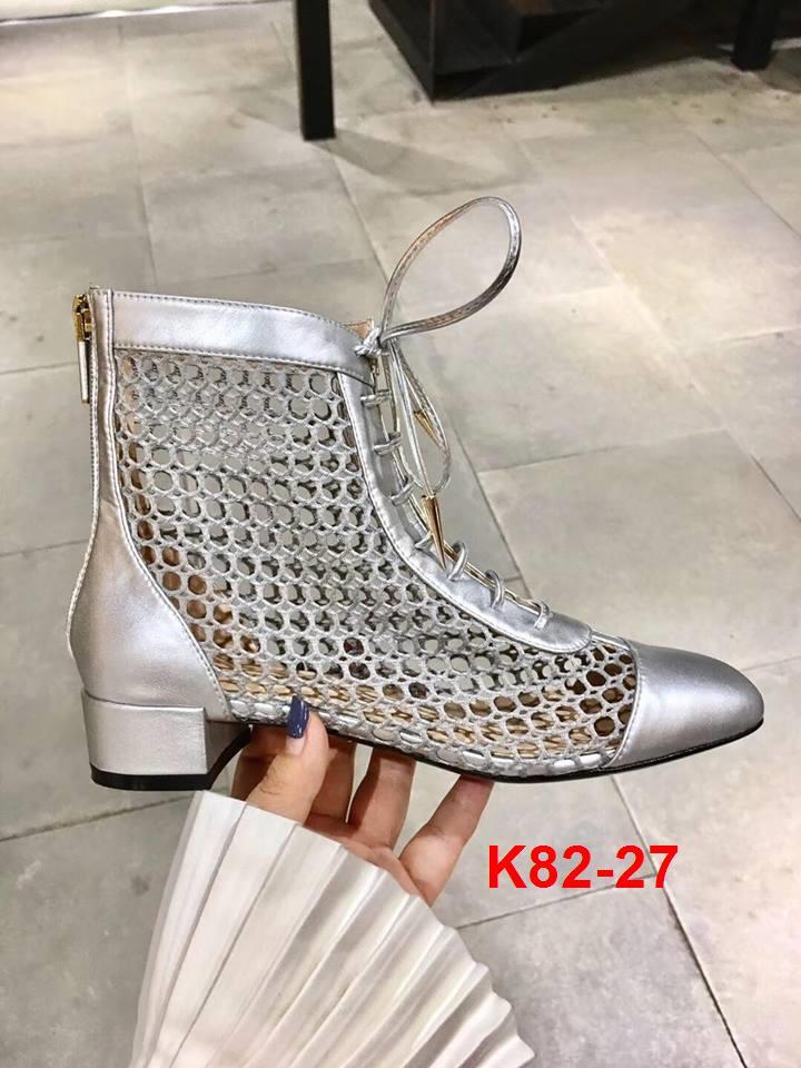 K82-27 Dior bốt thấp cổ cao 3cm siêu cấp