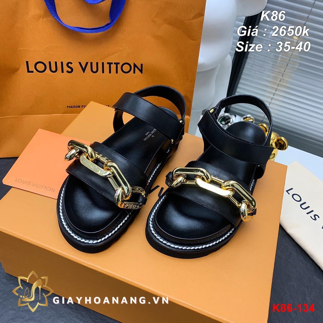 K86-134 Louis Vuitton sandal siêu cấp