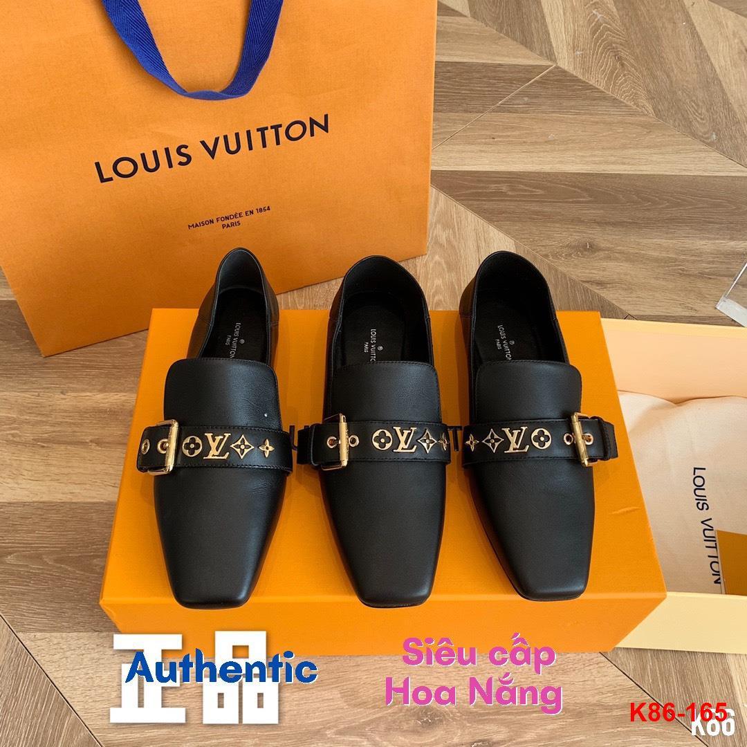 K86-165 Louis Vuitton giày lười siêu cấp