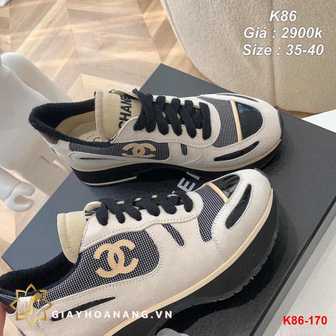 K86-170 Chanel giày thể thao siêu cấp