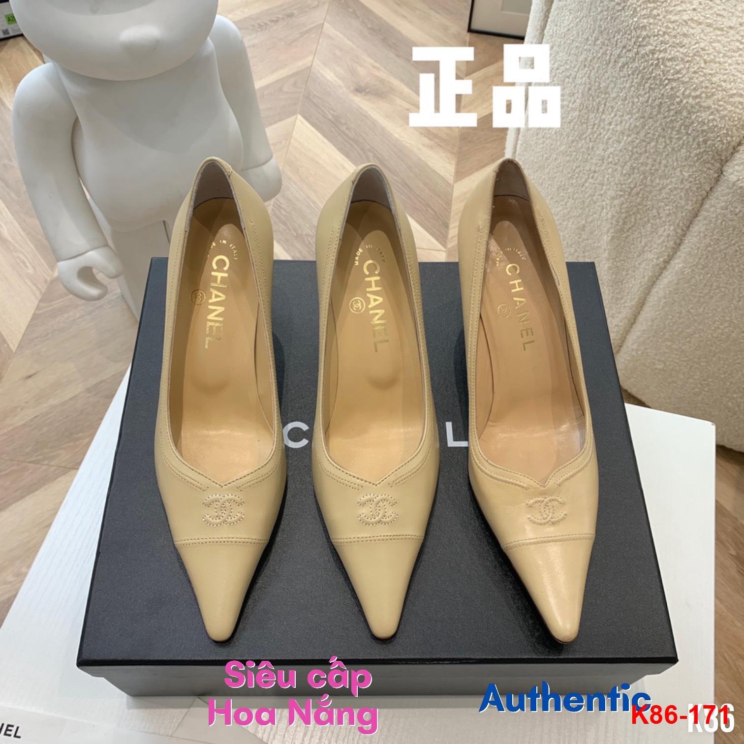 K86-171 Chanel giày cao 8cm siêu cấp