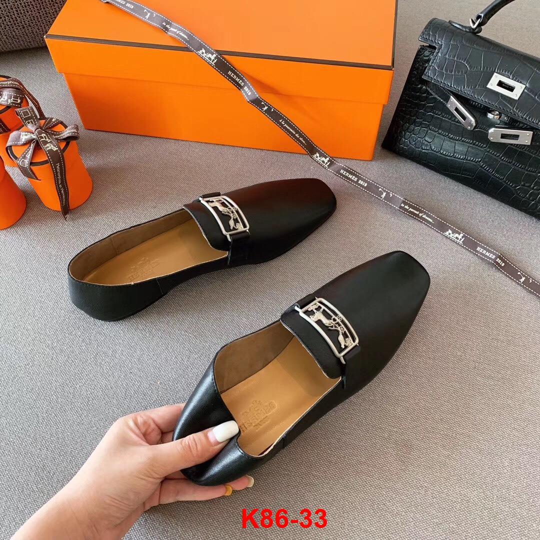 K86-33 Hermes giày lười siêu cấp