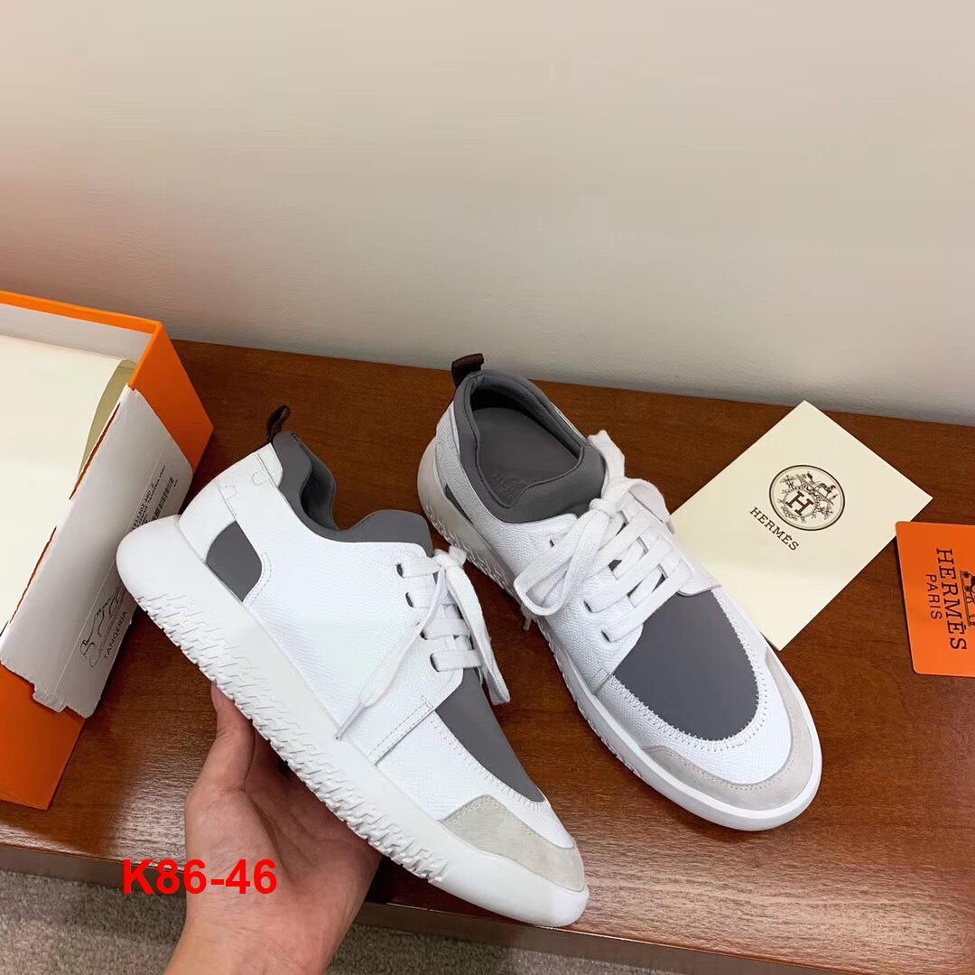 K86-46 Hermes giày thể thao siêu cấp