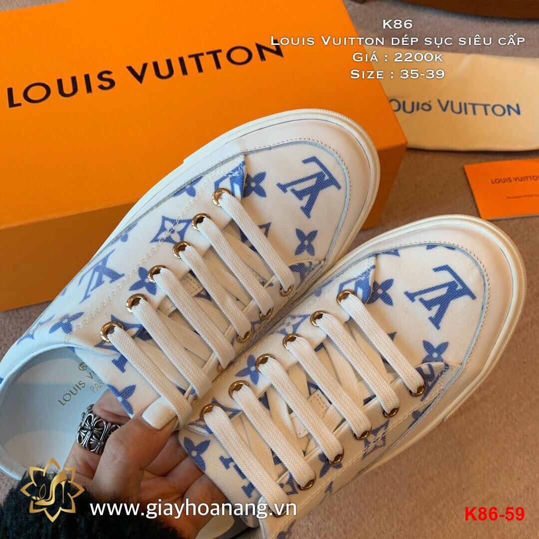 K86-59 Louis Vuitton dép sục siêu cấp