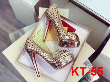 KT-55 Louboutin giày siêu cấp cao 13cm