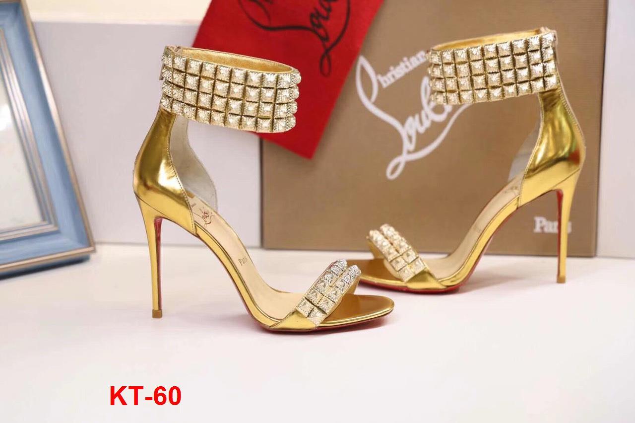 KT-60 Louboutin sandal cao 10cm siêu cấp