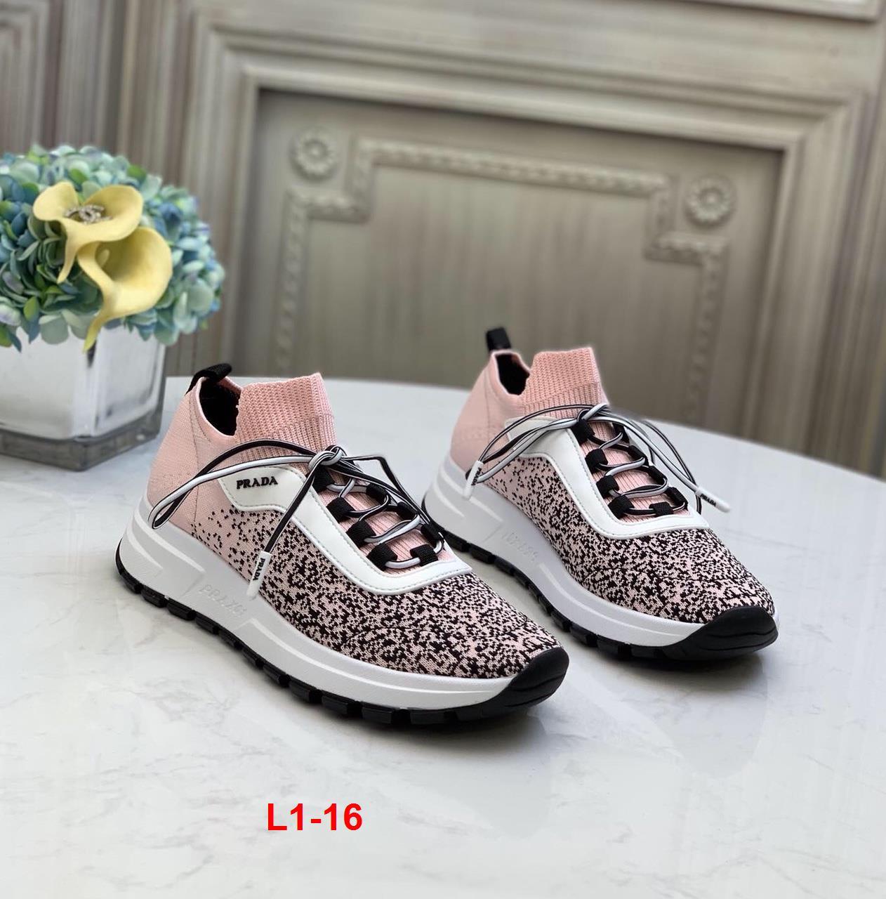 L1-16 Prada giày thể thao siêu cấp