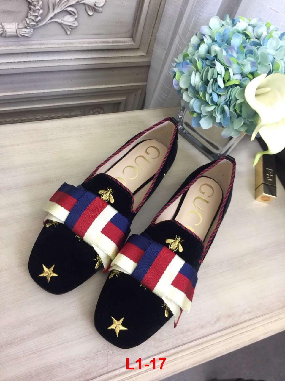 L1-17 Gucci giày lười siêu cấp
