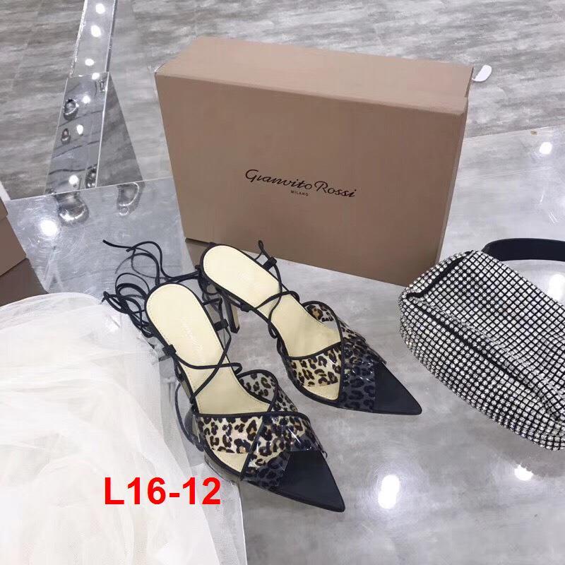 L16-12 Gianvito Rossi sandal cao 10cm siêu cấp