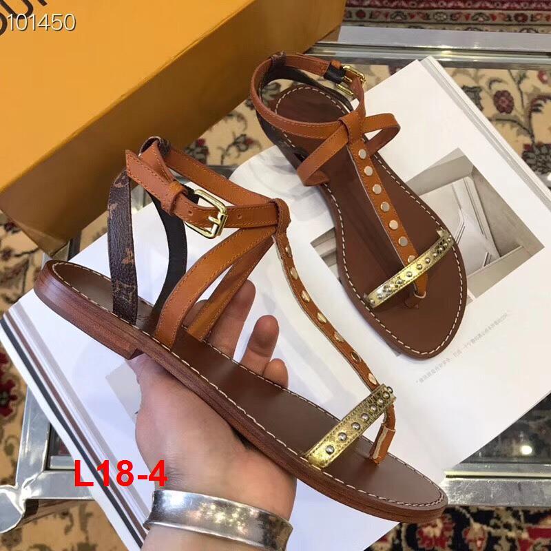 L18-4 Louis Vuitton sandal bệt siêu cấp