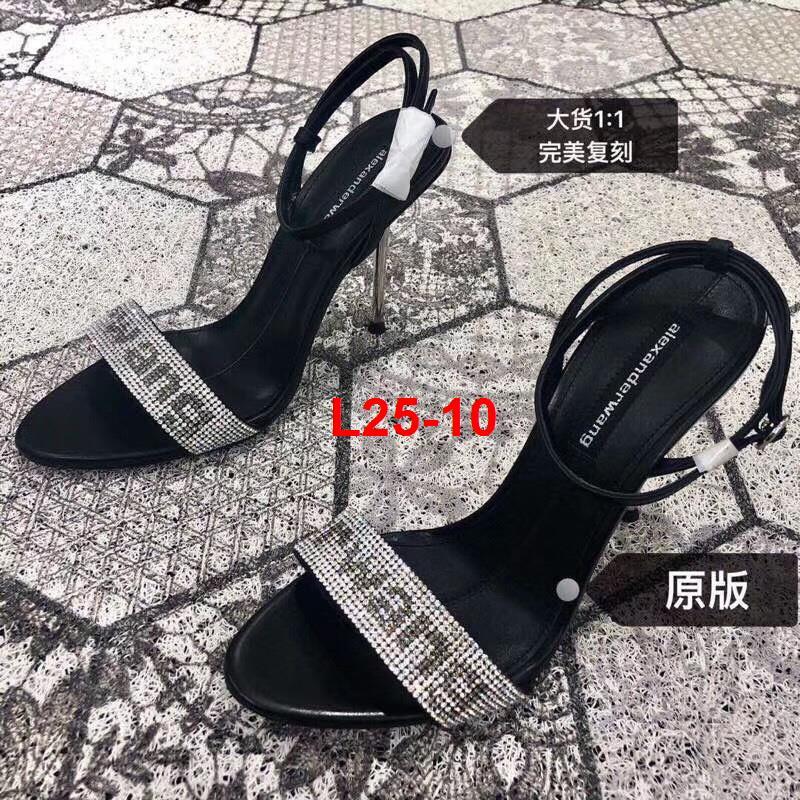 L25-10 Alexander Wang sandal cao 10cm siêu cấp
