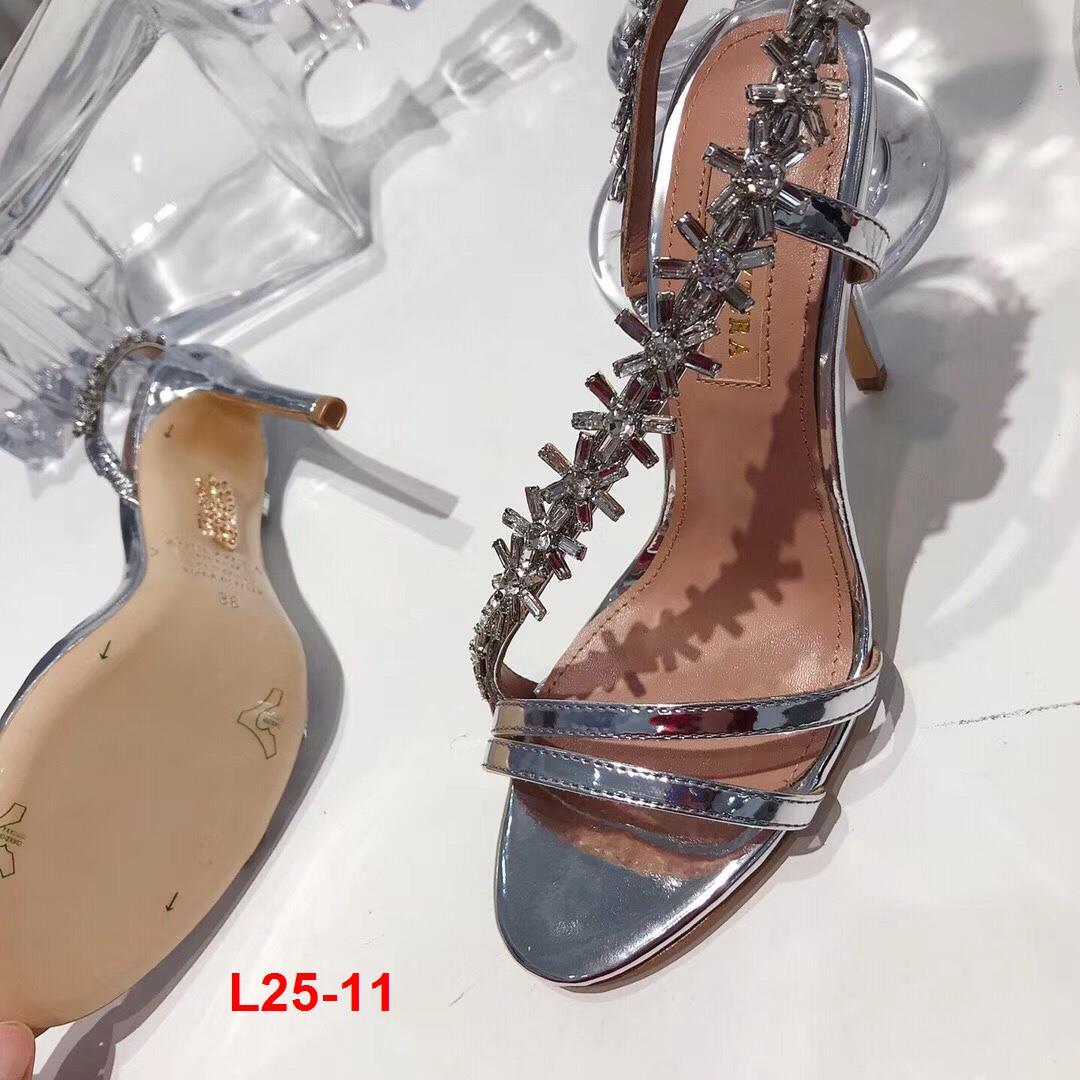 L25-11 Aquazzura sandal cao 10cm siêu cấp