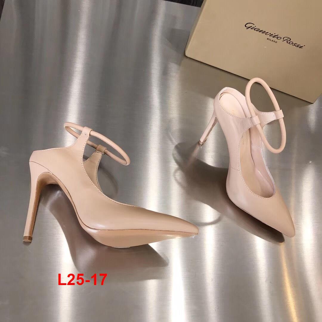 L25-17 Gianvito Rossi sandal cao 9cm siêu cấp