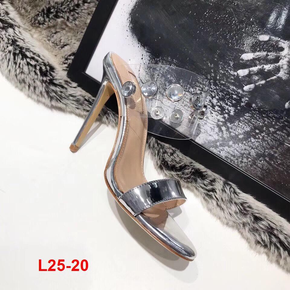 L25-20 Aquazzura sandal cao 9cm siêu cấp