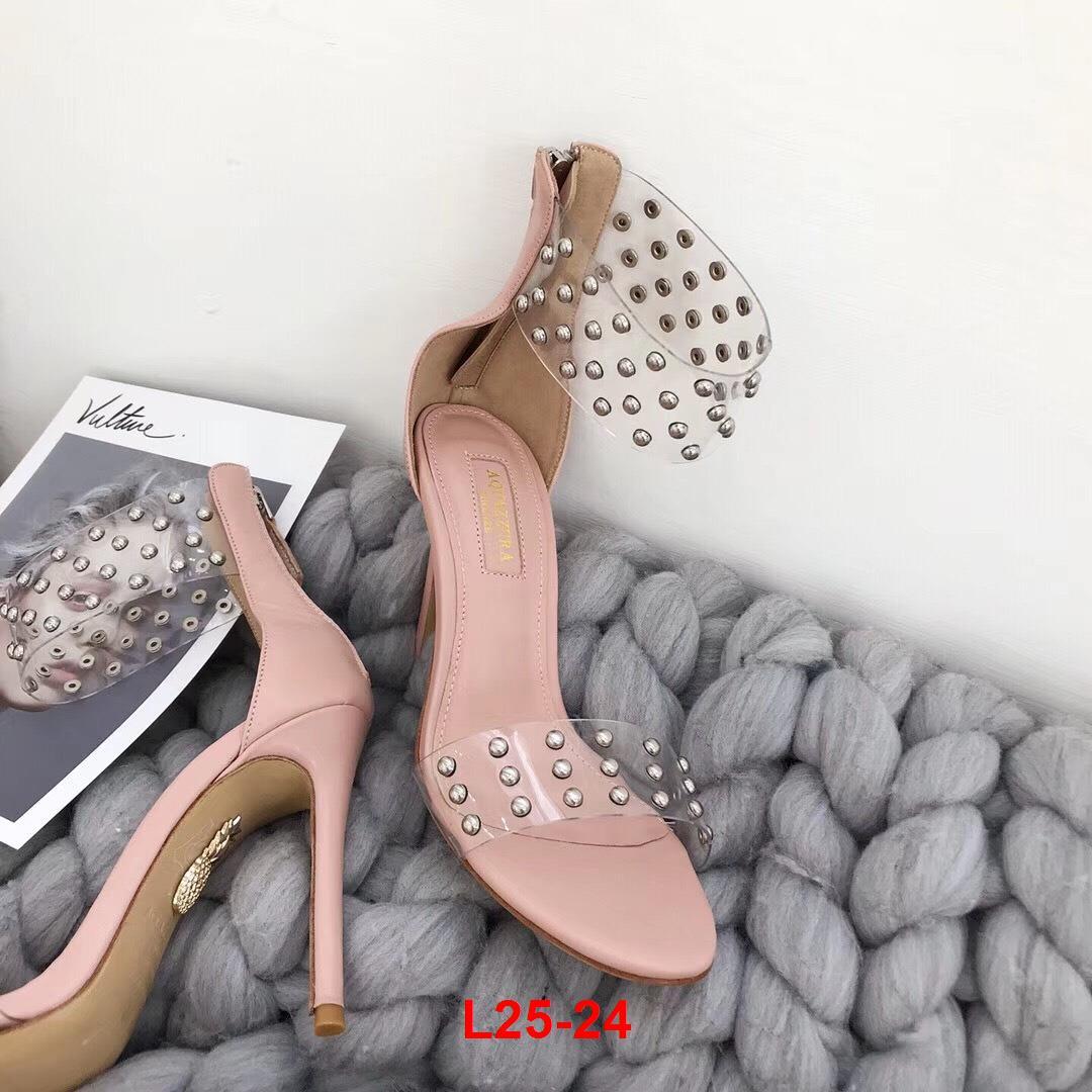 L25-24 Aquazzura sandal cao 9cm siêu cấp