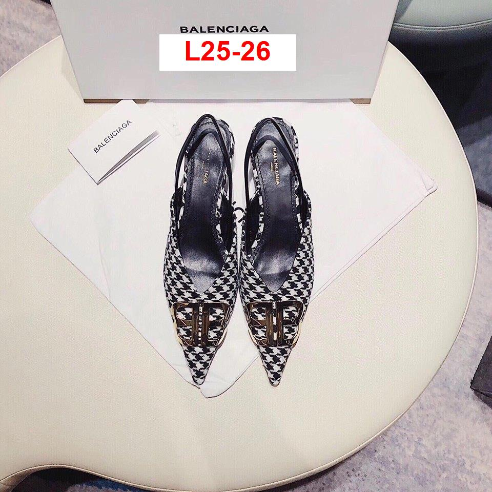 L25-26 Balenciaga sandal cao 3cm siêu cấp