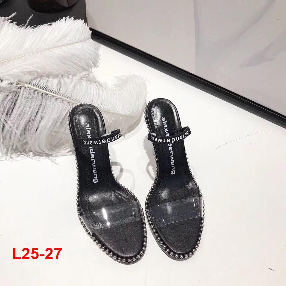 L25-27 Alexander Wang sandal cao 9cm siêu cấp