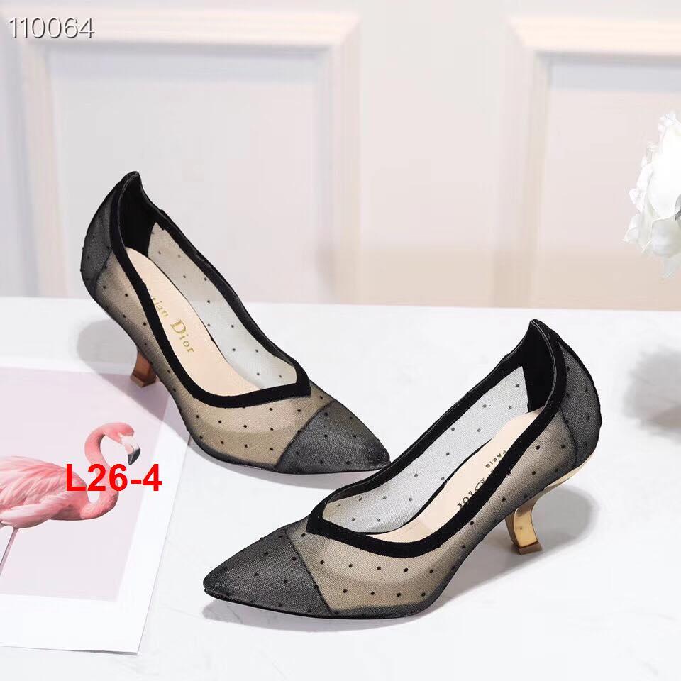 L26-4 Dior giày cao 7cm siêu cấp